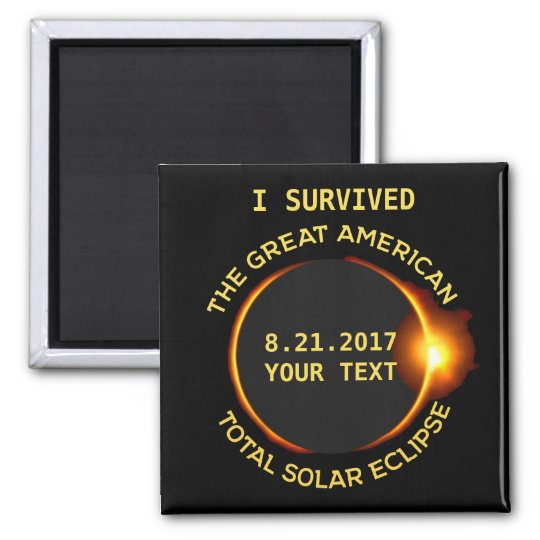 I Survived the Total Solar Eclipse 8.21.2017 USA