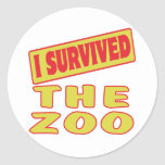 I SURVIVED THE ZOO STICKER