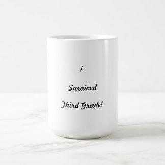 I survived Third Grade! Coffee Mugs