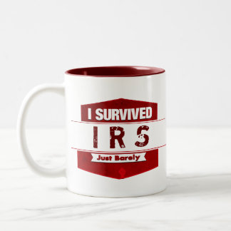 I Survived Two-Tone Coffee Mug