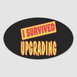 I SURVIVED UPGRADING STICKERS