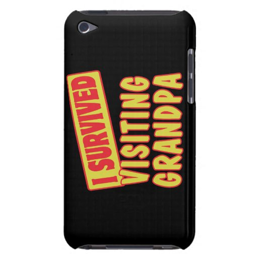I SURVIVED VISITING GRANDPA iPod Case-Mate CASE