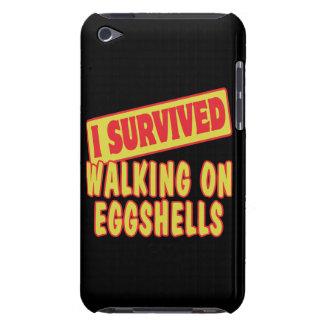 I SURVIVED WALKING ON EGGSHELLS iPod Case-Mate CASES