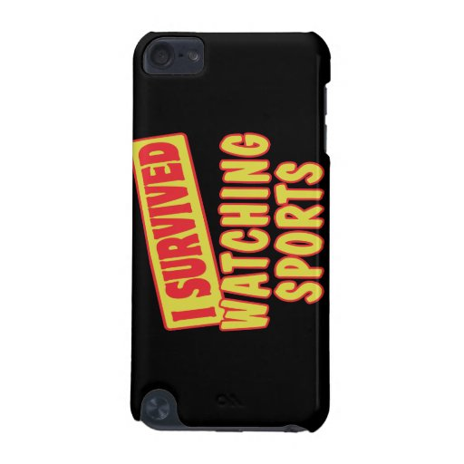 I SURVIVED WATCHING SPORTS iPod TOUCH (5TH GENERATION) COVER