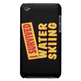 I SURVIVED WATER SKIING Case-Mate iPod TOUCH CASE