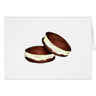 I Survived Whoopie Pie Wednesday Note Card