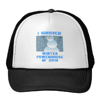 I Survived! Winter Powerhouse of 2010 Cap