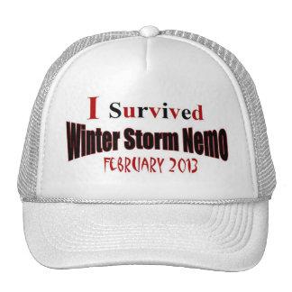 I Survived Winter Storm NEMO 2013 Hat