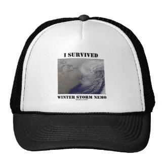 I Survived Winter Storm Nemo (NASA Outer Space) Cap