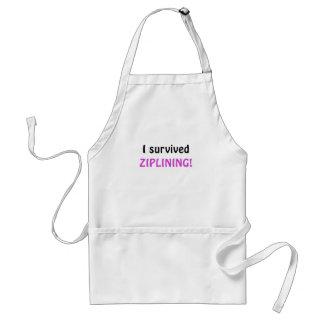 I Survived Ziplining Standard Apron