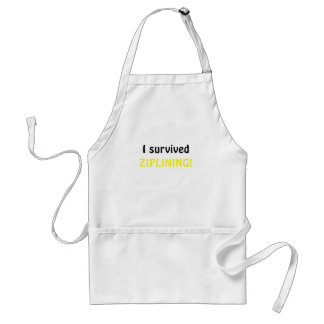 I Survived Ziplining Standard Apron