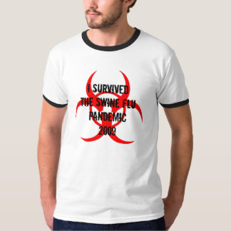 I SURVIVEDTHE SWINE FLU PANDEMIC 2009 T-SHIRT