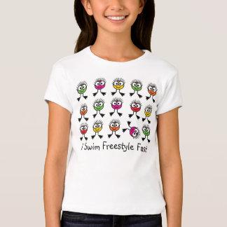 I Swim Freestyle Fast T Shirt