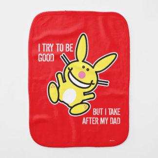I Take After My Dad Burp Cloth