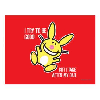 I Take After My Dad Postcard