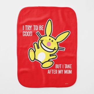 I Take After My Mom Burp Cloth
