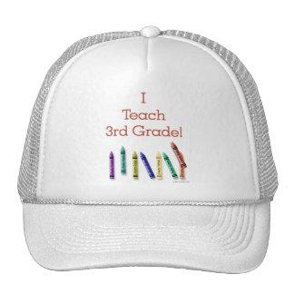 I Teach 3rd Grade Cap