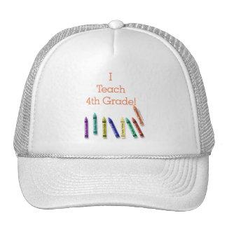 I Teach 4th Grade! Cap