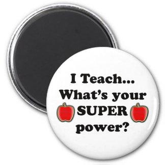 I teach 6 cm round magnet