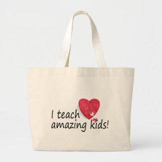 I Teach Amazing Kids Large Tote Bag