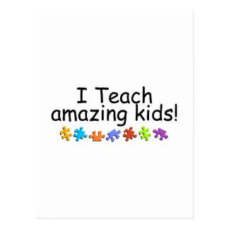 I Teach Amazing Kids (PP) Postcard