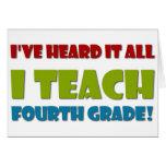 I Teach Fourth Grade
