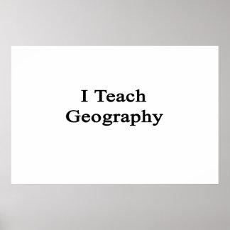 I Teach Geography Print