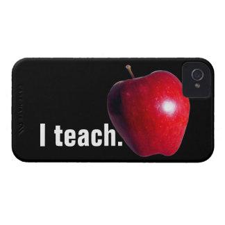 """""""I teach."""" iPhone4 Case-Mate ID CASE"""