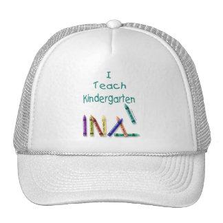 I Teach Kindergarten Cap