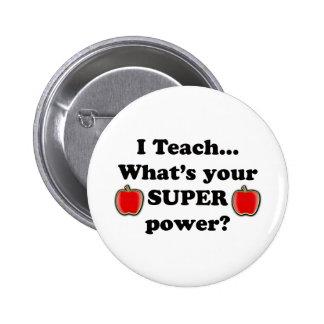 I teach pins