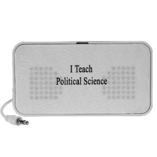 I Teach Political Science Laptop Speakers