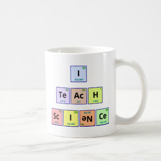 I Teach Science Mug