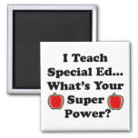 I Teach Special Ed. Square Magnet