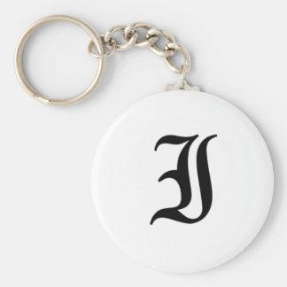 I-text Old English Key Ring