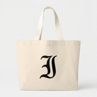 I-text Old English Large Tote Bag