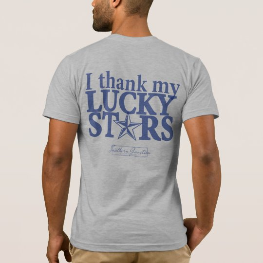 I Thank my Lucky stars- Men's T-shirt Back
