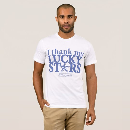 I Thank my Lucky stars- Men's T-shirt Front
