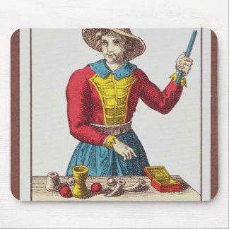 I The Magician, seven tarot cards Mouse Mat
