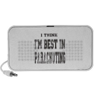 I Think I m Best In Parachuting iPod Speakers