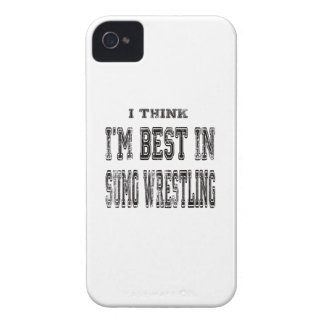 I Think I m Best In Sumo Wrestling iPhone 4 Cover