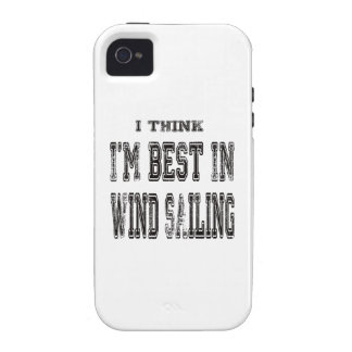 I Think I m Best In Wind Sailing iPhone 4/4S Covers