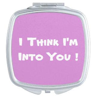 I think I'm into You Vanity Mirrors