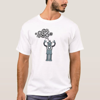 I Think in Robot - Steampunk Robot speak! T-Shirt