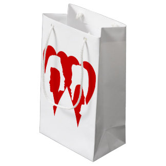 I think of you. small gift bag