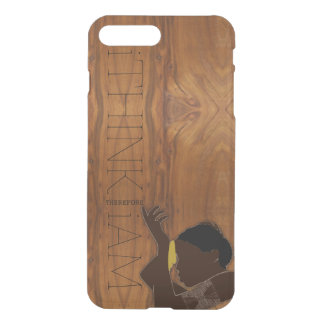 i THINK THEREFORE i AM black woman iPhone 7 Plus Case