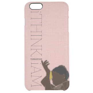 i THINK THEREFORE i AM black woman iPhone 6 Plus Case