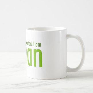 I think.  Therefore I am Vegan Coffee Mug