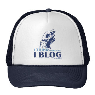 I Think, Therefore I Blog Cap