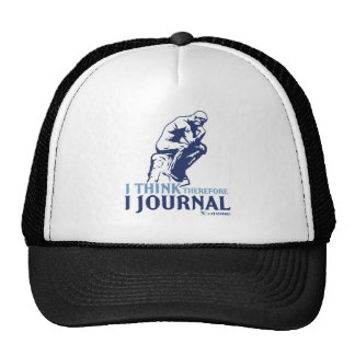 I Think, Therefore I Journal Cap