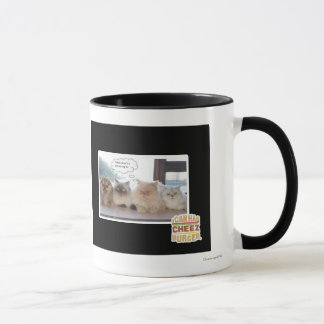 I think there's a spy among us mug